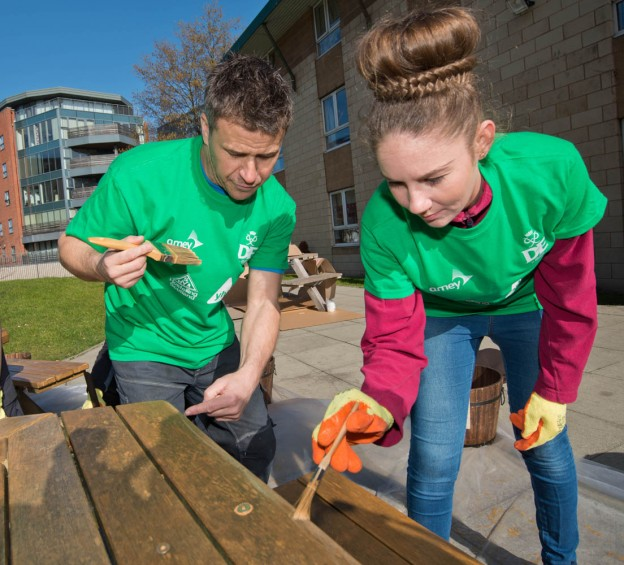 Apprentice Week – Amey Construction and the Youth Hostel Association